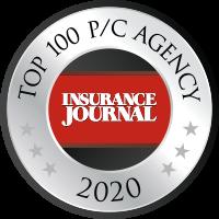 Insurance Journal - Top 100 P/C Agency 2020 Badge